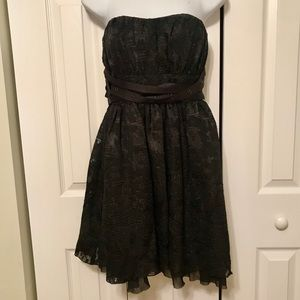 NWOT BCBGeneration Black Strapless Dress